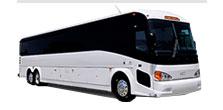 55 passenger Motor Coach Bus